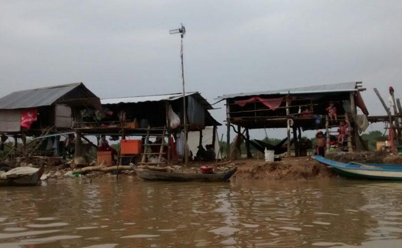 Battambang  – and when the rain begins to fall…