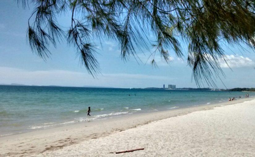Sihanoukville – der Himmel ist blaau, so blaau