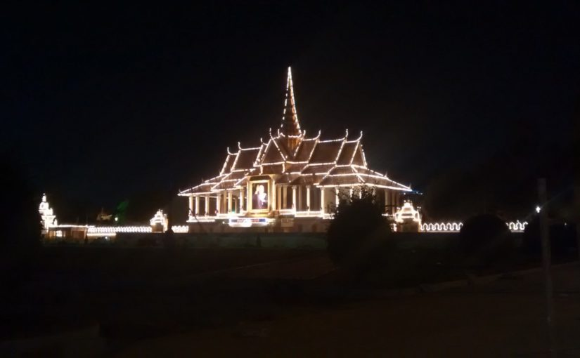 Phnom Penh – imagine all the people living life in peace..